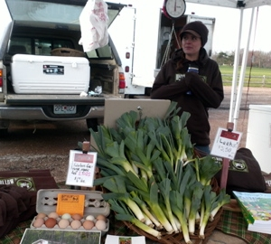 One of our first markets in April