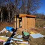 Insulating the well house
