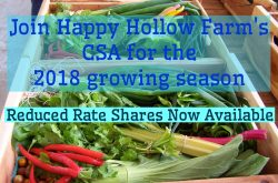 Reduced Rate CSA Shares NOW Available