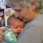 Aunt Bobbi & baby Sylvia