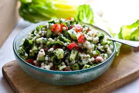 Cucumber & Couscous Salad